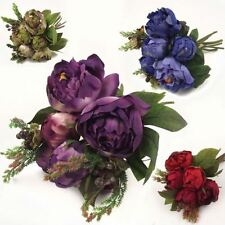 Peony Dried & Artificial Flower Bunches
