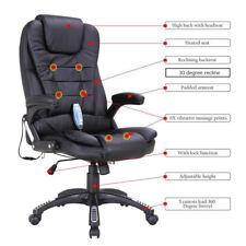 Heated Vibrating Office Massage Chair Executive Ergonomic Computer Desk Chair