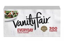 Vanity Fair Everyday Paper Napkins, 300 Total Napkins