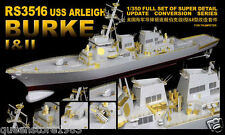 LionRoar Photo-etched details 1/350 USS ARLEIGH BURKE I&II