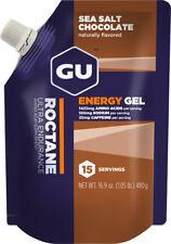 GU Roctane Energy Gel: Sea Salt Chocolate, 15 Serving Pouch