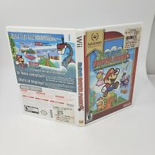Super Paper Mario Nintendo Selects Replacement Case Nintendo Wii Case Only