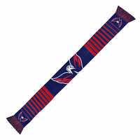 Washington Capitals Scarf Knit Winter Neck NEW NHL - Big Logo - Team Colors