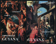 Guyana 2493-4 MNH Cristmas, Art, Paintings