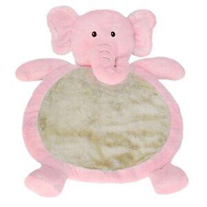 Pink Elephant Baby Mat – 31×23″