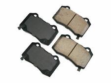 For 2006-2010, 2012-2018 Jeep Grand Cherokee Brake Pad Set Rear Akebono 14684CR