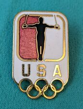 Olympic Gymnastics Team USA Olympic Rings Lapel Pin