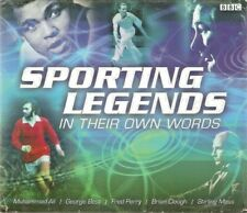 Sporting Legends: In Their Own Words (BBC Audiobook CD)