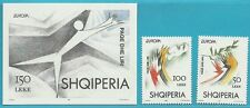 Albanien aus 1995 ** postfrisch MiNr.2556-2557 + Block 104 - Europa: Frieden!