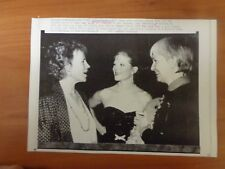 Vintage Wire Press Photo Actor Actress Joanne Woodward The Three Faces Of Eve