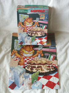 Complete 1978 Garfield the Cat Lasagna 100 Piece Jigsaw Puzzle by Golden