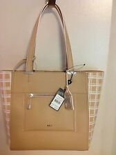 NEW RALPH LAUREN PALEY LAURYN TOTE MEDIUM STRAW  WIND WITH POUCH HANDBAG
