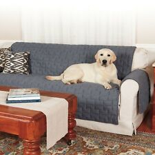 HuggleHounds Allure Pet Products Textured Reversible Furniture Protector Dog Cat