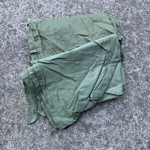 UK British Army Surplus Issue Olive Green Cotton Sweat Rag, Bandana Neckerchief