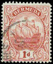 Bermuda Scott #83a Used  Type II