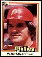 1981 Donruss Pete Rose Phillies #371 *Noles2148* 10=Free Ship