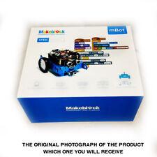 Makeblock 90058 mBot V1.1 Blue 2.4GHz RF Enabled STEM Robot Kit. Brand New