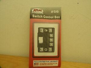 ATLAS MODEL RAILROAD CO., INC., Switch Control Box, #56