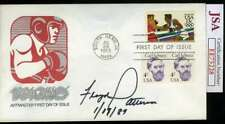 Floyd Patterson Jsa Autograph  1983 Fdc Cache Hand Signed