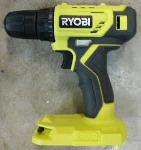 "NEW RYOBI 18V One+ 3/8"" Drill Driver Model# P209DCN   Bare Tool"