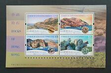 China Hong Kong 2002 Types of Rock S/S MNH
