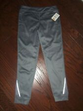 NWT ATHLETIC WORKS GRAY TECH FLEECE LINED PANTS : SIZE: 10/12
