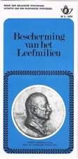 Folder Belgische Post 1974-03 - Bescherming van het Leefmilieu
