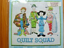 """Sewing Pattern QUILT SQUAD Wall Hanging By Amy Bradley Designs 21x23 ½"""" New"""