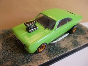 #55 Diorama, Muscle-Car, Eigenbau, Opel Chevrolet OPALA Coupe 1968-69, 1:43
