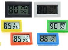 Thermomètre humidité hygromètre LCD + piles - voiture température - couleurs