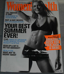 Women's Health Magazine July/August 2007 Jildou deJong Kristin Gore