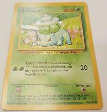 Bulbasaur Pokemon Card 44/102 Mint