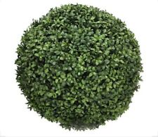 NEW-Pottery Barn Faux Boxwood Sphere, Green