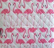 2-pc ☆ Tropical Flamingos ☆ Full/Queen Quilt Cynthia Rowley Pink Beach House