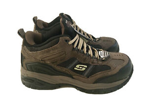 Skechers Relaxed Fit Memory Foam Work Shoes Mens 10.5