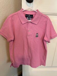 Pink Pyscho Bunny Shirt Boys Size Small