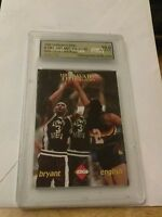 1996 COLLECTOR'S EDGE #TW3 BRYANT,ENGLISH HARD COURT TIME WARP GRADE A 10