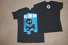 ALL TIME LOW SKULL T SHIRT MEDIUM NEW OFFICIAL DIRTY WORK DON'T PANIC UMBRELLA