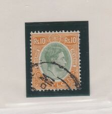 CEYLON 289A Geo VI Rs.10 used 1938