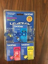 BROTHER INK CARTRIDGES LC47CL - 3 COLOR PACK - LC47C LC47M LC47Y