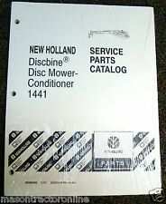 Ford & New Holland Tractor Parts Catalog Discbine® Disc Mower Conditioner 1441