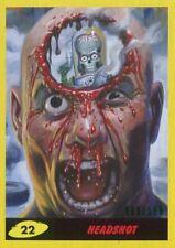 Mars Attacks The Revenge Yellow [199] Base Card #22 Headshot