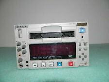 SONY DSR-1500 DVCAM DVR EDITING DECK DRUM-54 TAPE-50 THREAD-157 POWERS UP