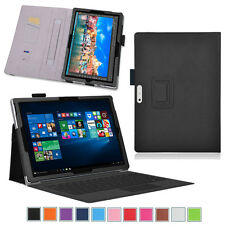 Exact Pro Slim-Fit PU Leather Stand Folio Cover Case for Microsoft Surface Pro 4
