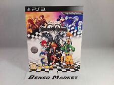 KINGDOM HEARTS HD 1.5 I.5 REMIX LIMITED EDITION SONY PS3 PAL COMPLETO ORIGINALE