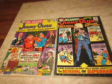 Superman's Pal Jimmy Olsen #95 and #113 (2 issues both 80 Page Giants)