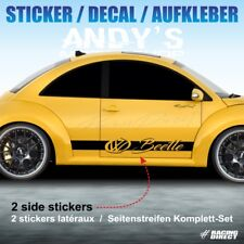 984 sticker LOGO VW BEETLE NEW BEETLE aufkleber decal adesivi pegatina