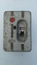 Vintage Bill Fuse Box Switch