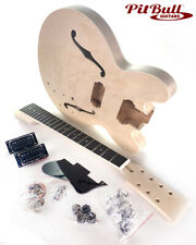 Pit Bull Guitars DES-7 7 String Semi-Hollow Electric Guitar Kit (Maple Body)