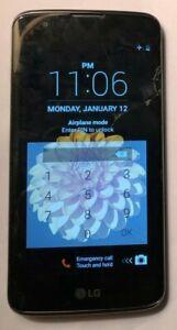 LG K7 K330 16GB (Verizon) Smartphone - Black Repair Good Used Parts Cracks Lock